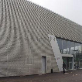 奧迪4s店外牆裝飾網時尚有味道
