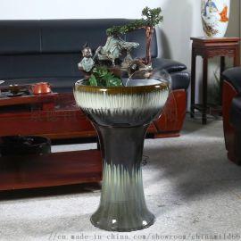 景德镇陶瓷插花瓶仿古青花瓷花瓶
