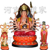 河南佛像廠家生產 鬥母元君佛像 鬥姆娘娘神像