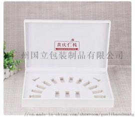 冻干粉套盒_化妆品皮质包装盒_广州国立包装