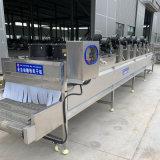 果蔬清洗風幹流水線 連續式常溫翻轉風乾瀝水設備