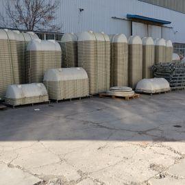 农村改造玻璃钢水处理罐销售模压式化粪池罐