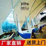 廣元陸地標誌船手工海盜船定製