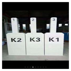 玻璃钢高压电缆标识牌 输油标志桩 霈凯环保