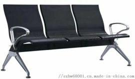 工廠直銷3人位冷軋電鍍鋼制連排椅
