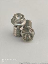 CNC钛加工螺纹零件 钛螺栓和螺母