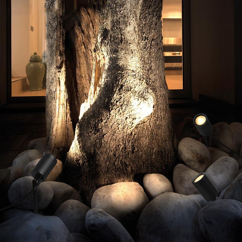 led投射灯插地照树灯   户外灯铝庭院地插灯