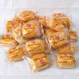 供应 食品面包枕式包装机 充气面包自动包装机