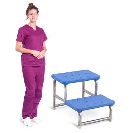 SKE020-1不锈钢脚踩凳 妇科检查脚踩凳防滑凳