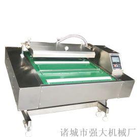 牛板筋豆干滚动式真空包装机 海鲜干货真空包装机