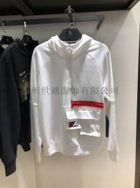 广州石井批发市场潮牌男装卫衣针织长裤原创设计服装