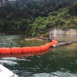 各種型號綠色塑料浮攔水電站攔污排