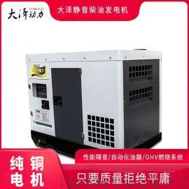 大泽动力20KW柴油发电机商标