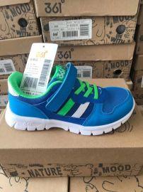 一线运动鞋品牌361童鞋运动鞋品牌尾货地摊货源