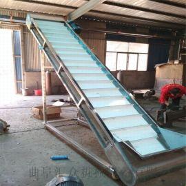 爬坡输送机 铝型材皮带机铝型材输送带 六九重工全铝