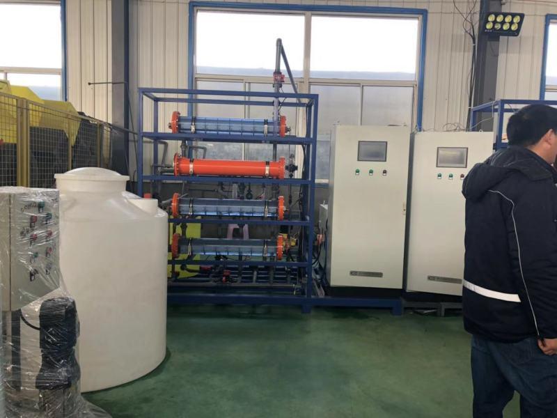 河北农村饮水消毒设备/次氯酸钠发生器项目案例