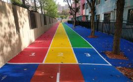 深圳小区塑胶地板,幼儿园地胶,epdm塑胶施工厂家