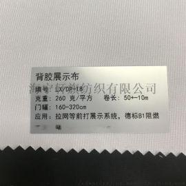 轩旗260克背黑胶遮光布