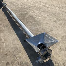 管式干粉螺旋上料机食用菌螺旋输送机单轴绞龙机