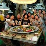 一米陶瓷海鲜大瓷盘60cm火锅海鲜纯白盘
