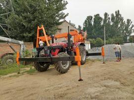 农用小吊车 四驱越野拖拉机吊 改装拖拉机吊车