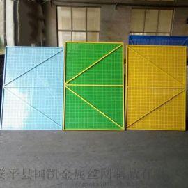 爬架网厂家供应米字型建筑爬架网高层安全防护爬架网片