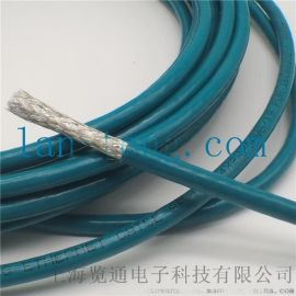 工业拖链网线_cat5e拖链网线屏蔽网络电缆
