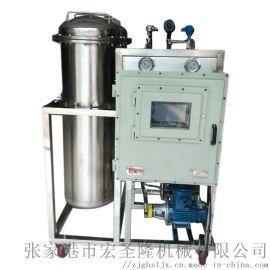 上海嘉滤防爆真空滤油机,润滑油过滤设备