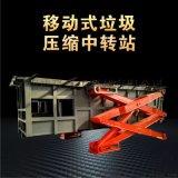 垃圾轉運設備-水準直壓式垃圾轉運設備-適用於村級