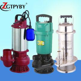 不锈钢潜水泵耐酸碱220v高扬程化工泵耐腐蚀污水泵