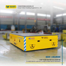 2吨轻型产品运输工具 无轨电平车 电动无轨车搬运车