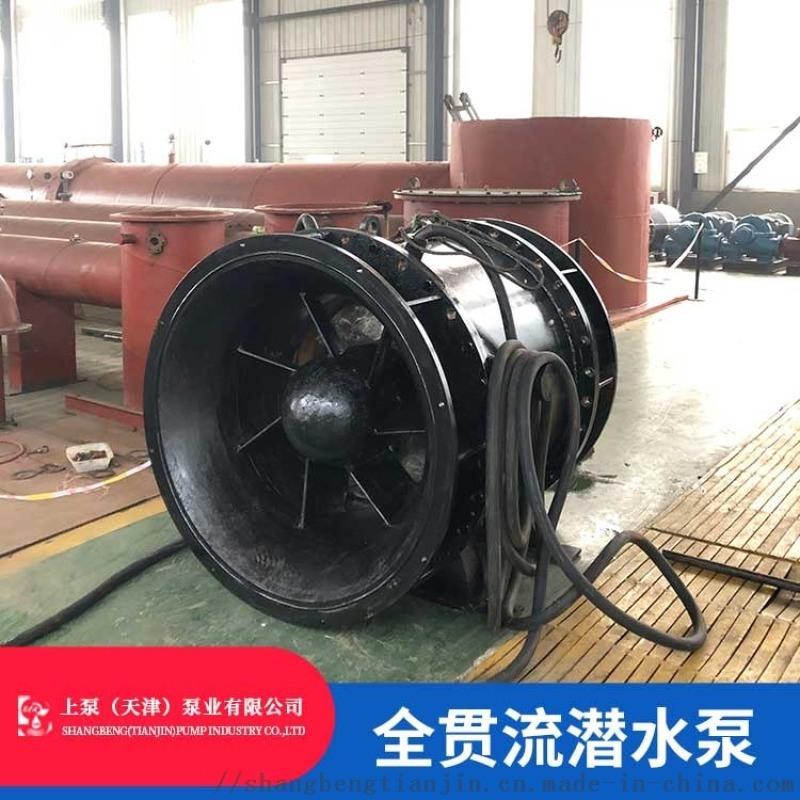 天津全貫流潛水泵_QGWZ貫流泵型號參數