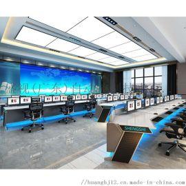盛视非标定制 监控操作台 动力环境琴式监控台