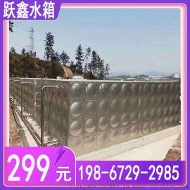 珠海不锈钢水箱方形生活水箱 组合式焊接储水塔