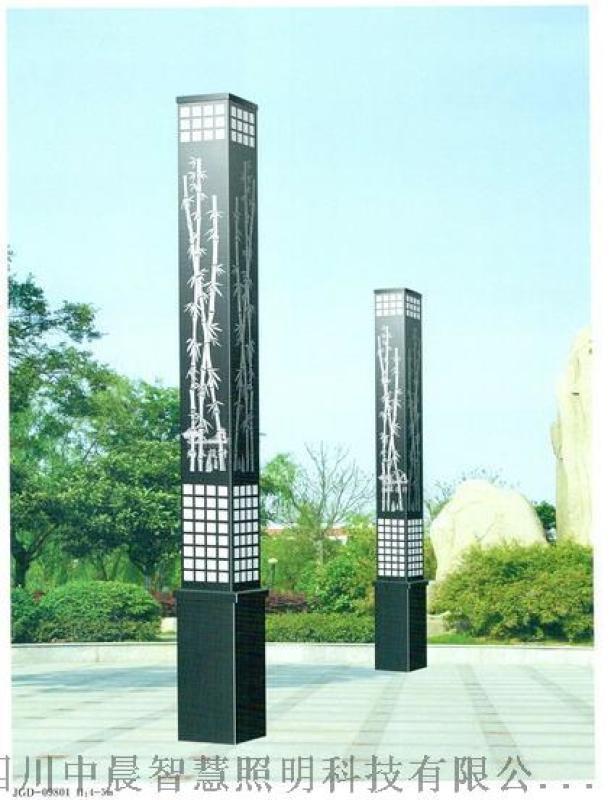 陕西景观灯 西安新中式草坪灯花园灯草地灯柱头灯