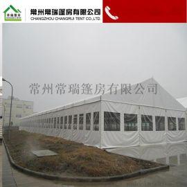 厂家直销人字顶篷房,仓库篷房,铝合金篷房,