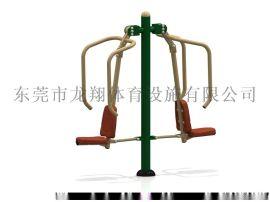 双位坐推训练器,双位坐推器有啥用?,广场双位坐推器