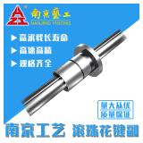 国产滚珠花键厂家 南京工艺端盖式反向滚动花键副