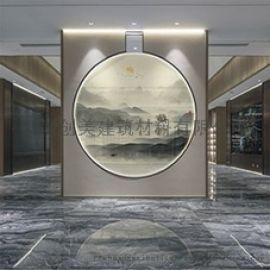 创美工程艺术夹丝玻璃定制加工厂