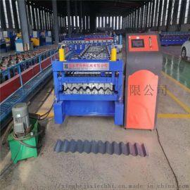 全自动冷弯成型机750型彩钢压瓦机