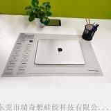 硅胶桌垫定制图案直销可随意撰写并擦拭长方形办公桌垫