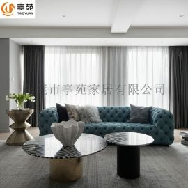 布藝沙發客廳小戶型簡約現代沙發