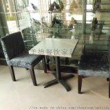 西餐厅实木餐桌,众美德欧式西餐桌生产定做,量大从优