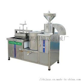 全自动干豆腐机价格 豆腐机器多少钱 利之健lj 花