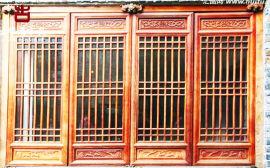 貴州仿古門窗廠,實木門窗廠家直銷