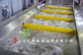 叶类净菜加工生产线多少钱, 江苏全自动果蔬清洗机