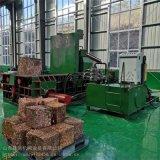 唐山廢舊鐵皮壓塊機 鐵皮鐵屑液壓打包機