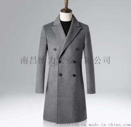 南昌男式绅士保暖100%羊毛大衣量身定制