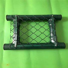 球场围网隔离栅体育场围栏护栏网铁丝网操场围栏