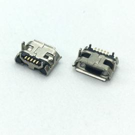 MICRO USB 5P 4.85牛角卷邊